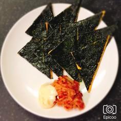 簡単海苔チーズ