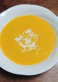 圧力鍋で、ひょうたんかぼちゃスープ