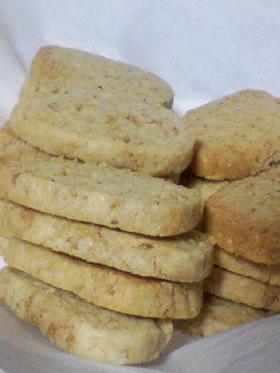 びっくり!天ぷら粉でセサミクッキー