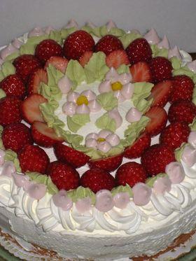 '08 ひなまつりのケーキ