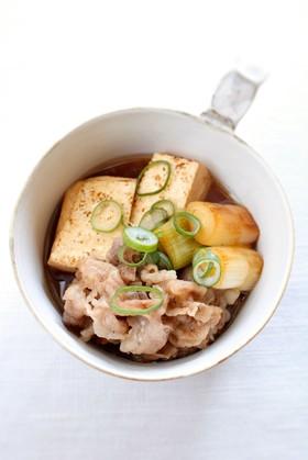 我が家の定番♪簡単【肉豆腐】