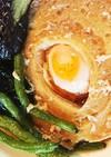 車麩の卵の煮物