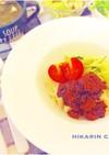 肉味噌でジャージャーうどん♬