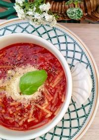 洗い物なし『ツナトマトスープパスタ』