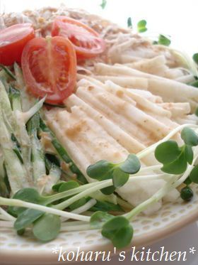 バンバンジー山芋サラダ