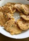 茹で残った素麺でチヂミもどき