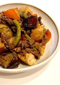 ご飯がすすむぞ!牛肉と夏野菜の甘辛炒め煮