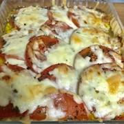 トマトのチーズ焼きの写真