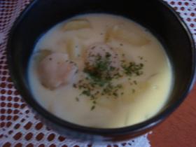 ❤優しい甘さ❤帆立の豆乳チャウダー