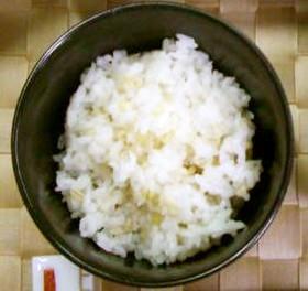 麦入りご飯★食物繊維たっぷり