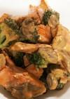 鮭とブロッコリーのオーロラソース
