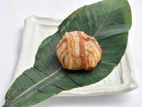 【きのこ】椎茸と焼きおにぎりの豚肉巻き