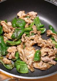豚肉とピーマンのうま味噌炒め