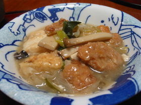 豆腐と海老団子のスープ