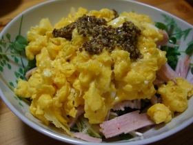 カイワレ卵サラダ☆