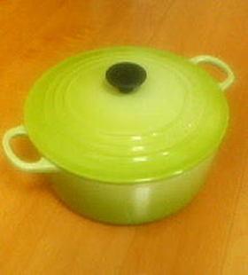 ル・クルーゼ☆白菜と豚肉のハーブ煮