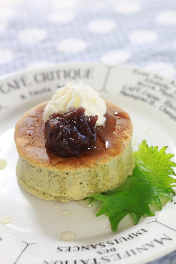 大葉茶のパンケーキ