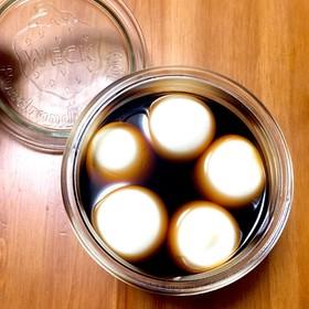 簡単!味玉 卵と麺つゆだけ!とろとろ煮卵