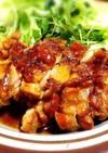 味付け簡単☆柔らか鶏もも肉の照り焼き