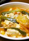 牛すじスープにキムチ&豆腐♪