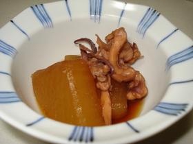 イカゲソと大根の甘ウマ煮☆