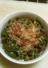 シシトウとピーマンの炒め煮