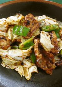回鍋肉(腎臓病食)