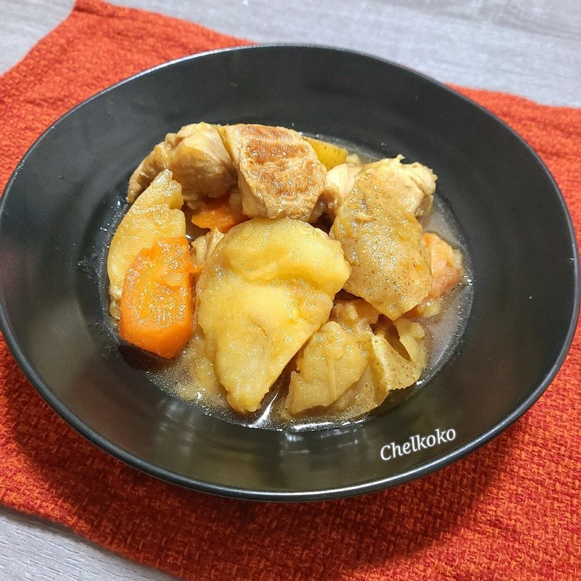麺つゆで☆スタミナ肉じゃが☆鶏じゃが