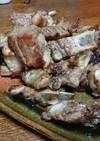 ガーリックソルト味の豚スペアリブ