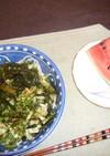 納豆キムチソーメン