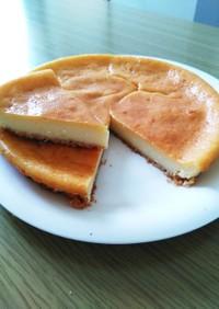簡単 豆腐で超濃厚ベークドチーズケーキ