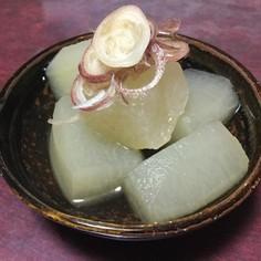 冬瓜のひんやり煮物