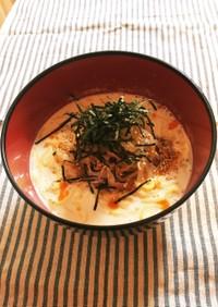 ズボラ飯☆蒟蒻麺の冷し胡麻豆乳ラーメン