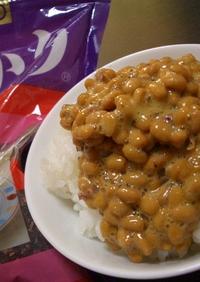 簡単☆納豆の食べ方♪混ぜるダケゆかり納豆