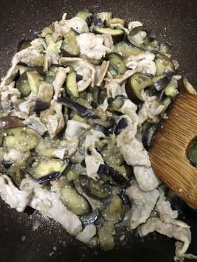 茄子と豚肉♡味噌炒め