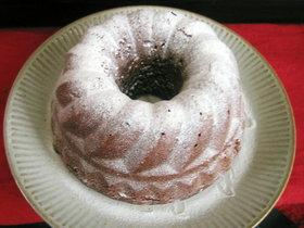 クグロフ型で簡単チョコケーキ♪