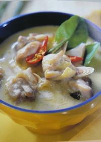 トムカーガイ(鶏肉のココナッツミルク)