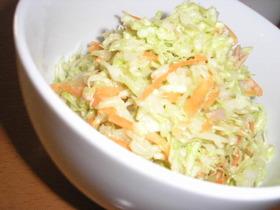 すし酢で簡単☆コールスローサラダ♪