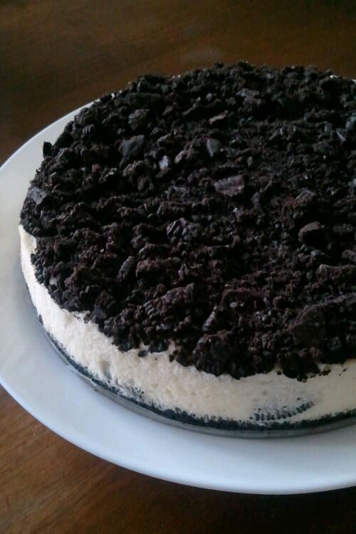 クッキークリームチーズケーキ