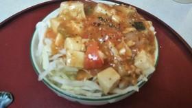 エビチリ豆腐丼(血管ダイエット1269)