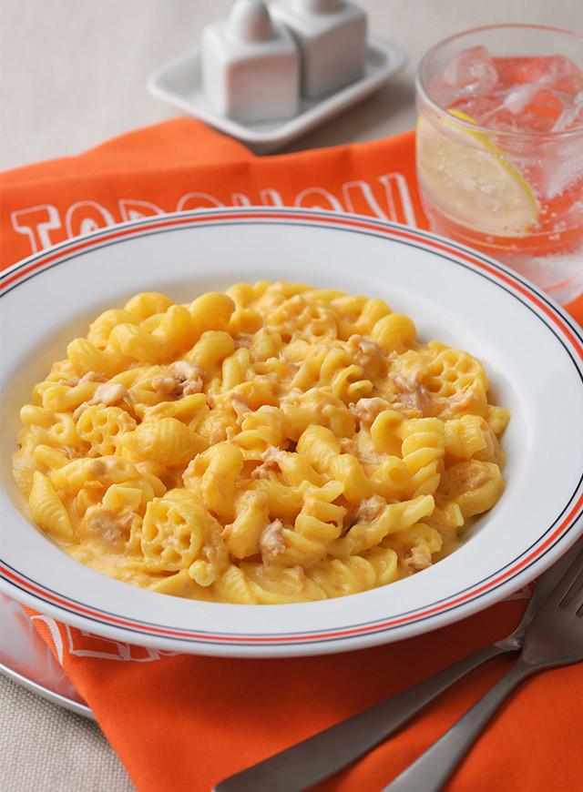 シーチキンマカロニチーズ