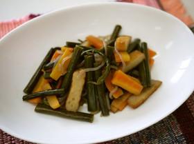 ゼンマイの炒め煮(あく抜きの仕方から)