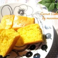 ホットケーキミックスで簡単にんじんケーキ
