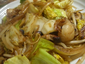 ホタテと野菜のバターマヨネーズ焼き