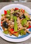 野菜と豚肉の甘味噌炒め