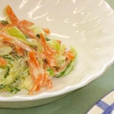 青梗菜のサラダ(腎臓病食)