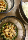アレンジ素麺☆パクチーとラー油のピリ辛味