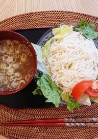 流水麺の簡単そうめん☆つけ麺☆