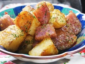 ポン酢でサッパリと☆じゃが芋の照り焼き