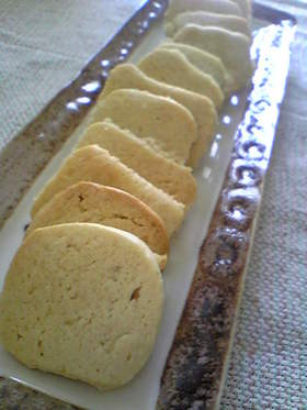 トースターでヨーグルト風味のクッキー☆